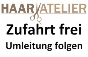 HAARAtelier Karben - Zufahrt frei!
